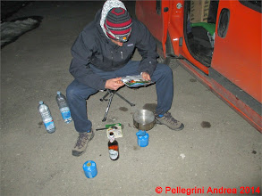 Photo: IMG_6929 Riccardo studia il cuscus vegetariano