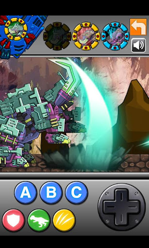 Transform! Dino Robot - Mammoth 1.0.0 screenshots 1