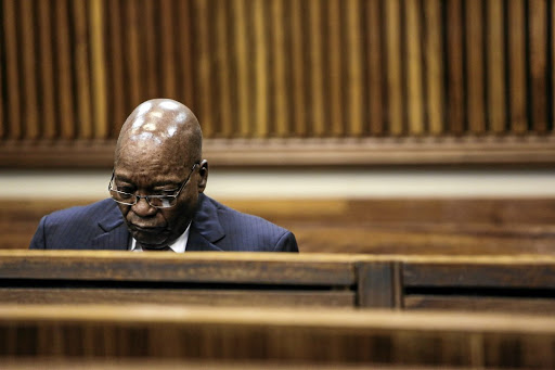 Ex-president Jacob Zuma is said to have spent R30m in legal costs at taxpayers' expense. / Alaister Russell
