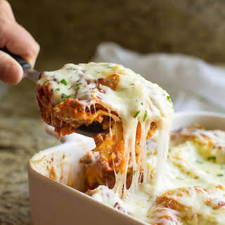 The Best Make Ahead Lasagna.