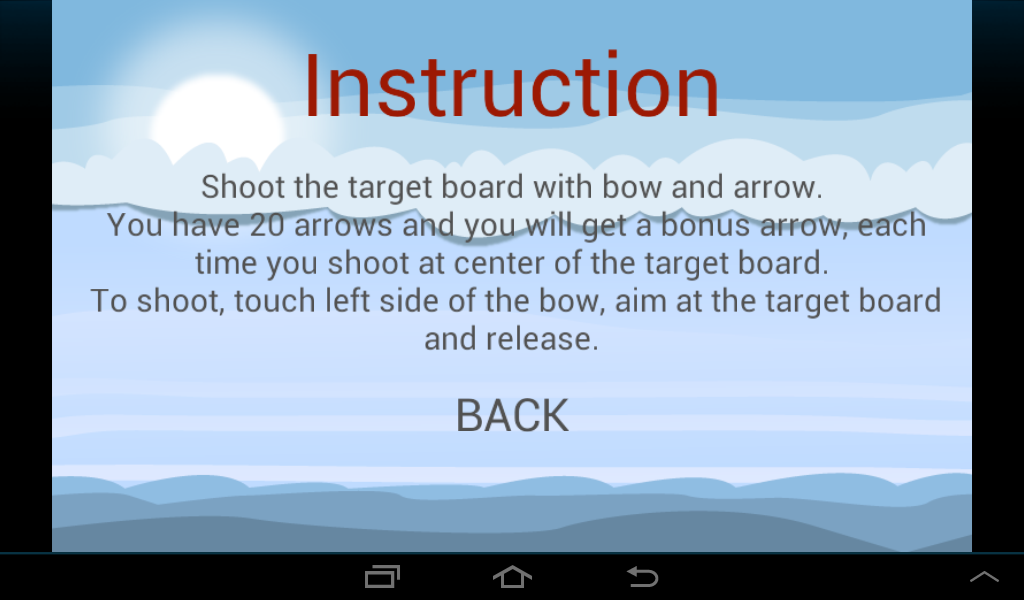 Archery - screenshot