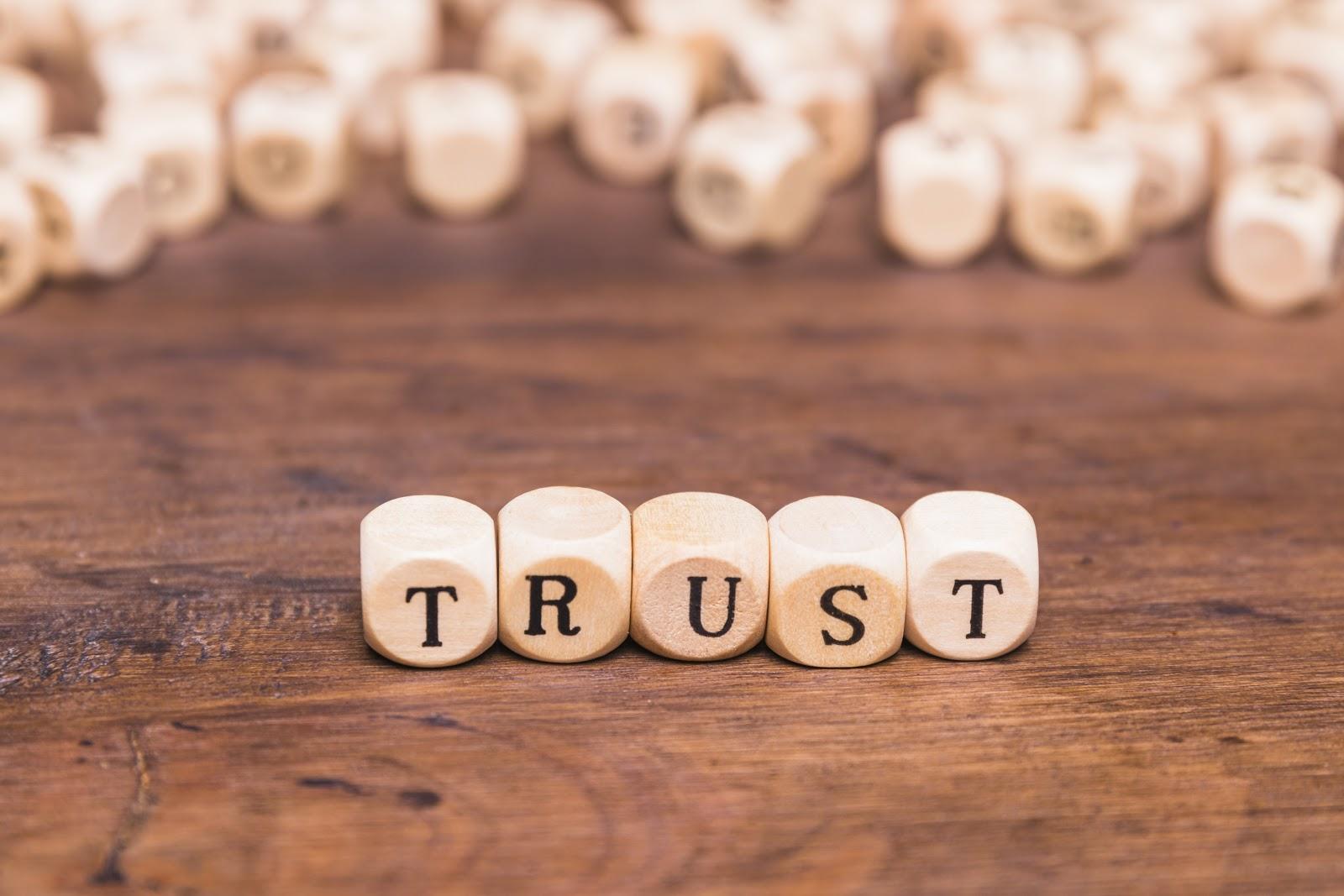 builds brand trust