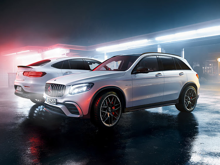 The new Mercedes-AMG GLC 63 S and GLC 63 S Coupé. Pic: SUPPLIED