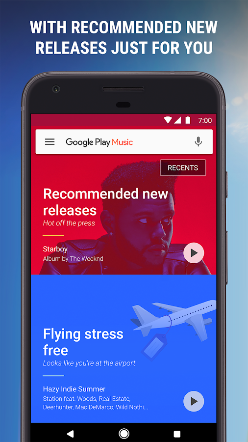 Google Play Music: captura de tela