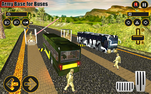 Drive Army Bus Transport Duty Us Soldier 2019 1.0 screenshots 17