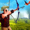 Archery King bird hunter icon