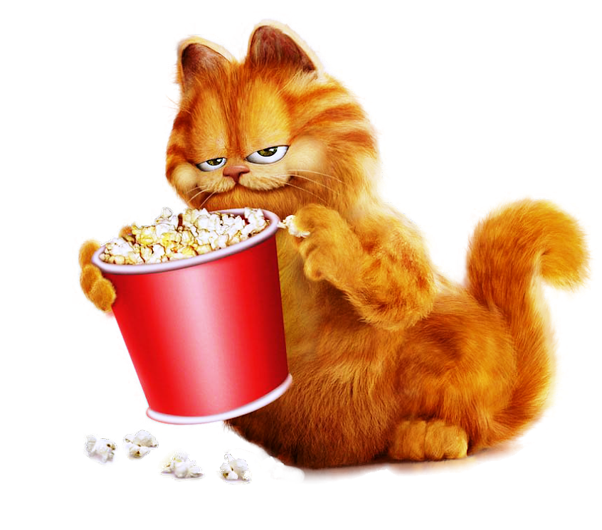 Garfield With Popcorn rNdjjhhJCdNo3Gb4jOFB
