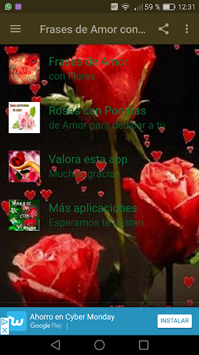 Frases De Amor Con Flores By New Generation Apps Android Google