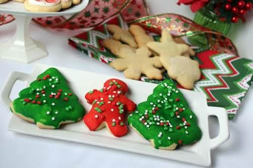 "Nutmeg Christmas Cookies""These are a good alternative to your average Christmas cookie...."