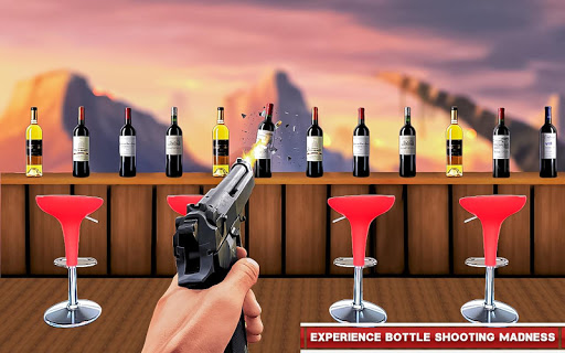 Real Bottle Shooting Free Games  screenshots 2