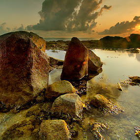 welcome sunrise by Willy Brordus - Landscapes Waterscapes