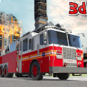 US Firefighter Truck Simulator- City Rescue heroes icon