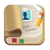 Daily Notes, Photo, Video, Voice, Notepad, Notes
