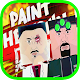 Town Paint In Red! Simulation Game walkthrough| Apk