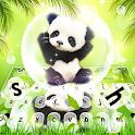 Adorable Bubble Panda Keyboard Theme icon