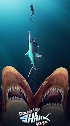Double Head Shark Attack - Multiplayer APK screenshot thumbnail 1