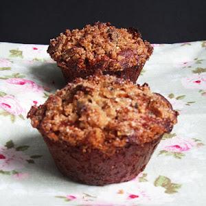 Granola and Apple Rye Muffins
