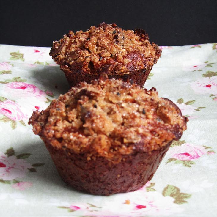Granola and Apple Rye Muffins Recipe