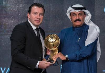 Voici le successeur de Marc Wilmots aux Globe Soccer Awards