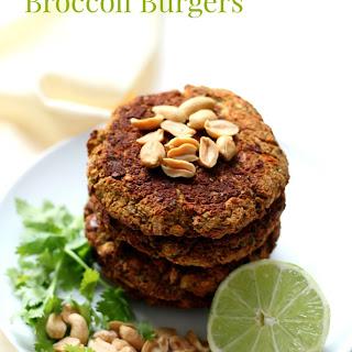 Pad Thai Broccoli Burgers