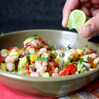 Mama Canales-Garcia's Avocado and Shrimp Salsa