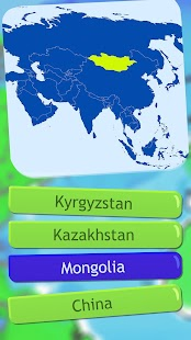 World Map Quiz Geography Game Android Apps On Google Play - Kyrgyzstan map quiz