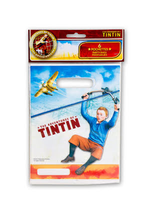 Tintin, kalaspåsar