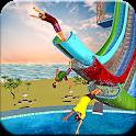 Water Slide Flip Park Uphill Sliding Stunts icon