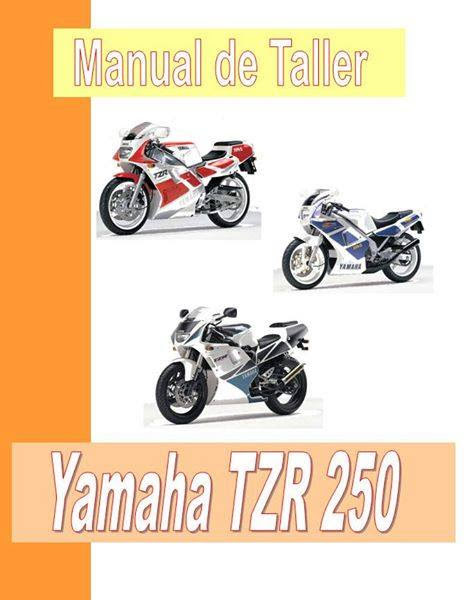 Yamaha TZR 250 R-manual-taller-despiece-mecanica