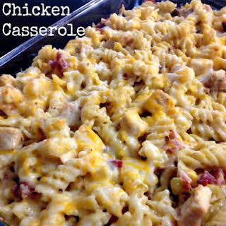 Bacon Ranch Chicken Casserole.