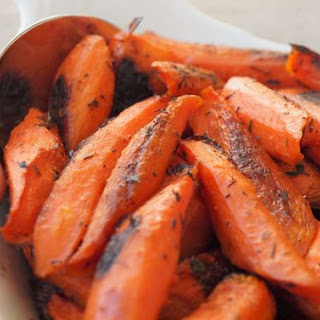 Roasted Carrots with Thyme Recipe