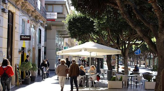 Imagen de archivo del Paseo de Almería.