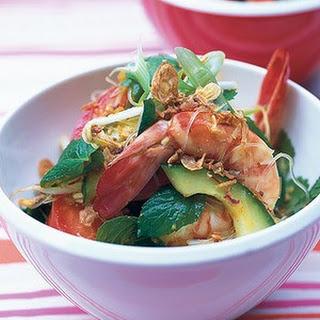 Peppery Prawn Noodle Salad