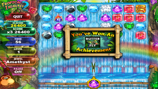 Tropical Treasure Gems 2 FREE- screenshot thumbnail