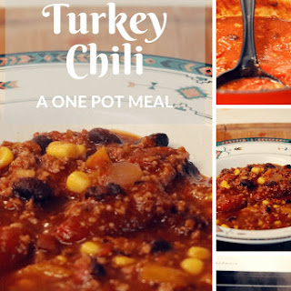One Pot Turkey Chili.