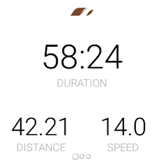 Runtastic Mountain Bike GPS Tracker- screenshot