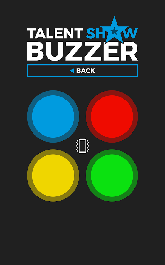 Talent Show Buzzer- screenshot