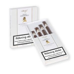 Cigarrpaket - Davidoff Winston Churchill Discovery