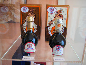 Photo: 25 and 12 year old Aceto Balsamico Traditionale de Modean is the traditional bottles