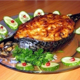 Mackerel Baked In The Oven.