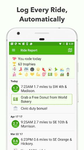 Ride App screenshot 1