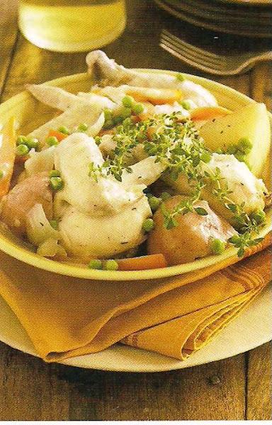 Creamy Chicken And Potatoes Recipe
