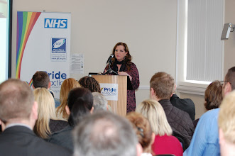 Photo: Shahnaz Ali, Director for Equality, Inclusion and Human Rights at NHS North West, explained why initiatives like this are strategically important and introduced guest speaker Dr Clare Gerada