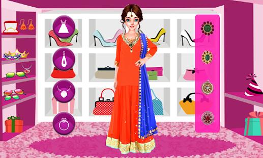 Indian Wedding Makeover – Bridal Fashion Salon - náhled