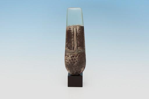 Peter Hayes Ceramic Raku Form 09