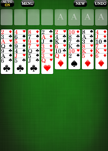 FreeCell [card game] - náhled