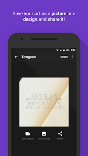 Textgram - write on photos Screenshot