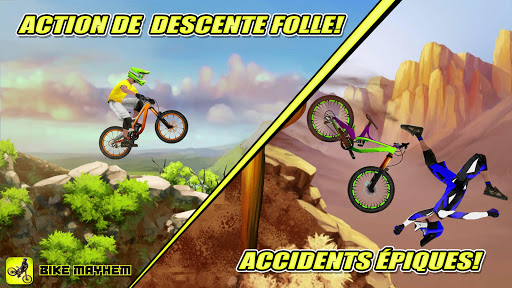 Bike Mayhem Mountain Racing APK MOD screenshots 1