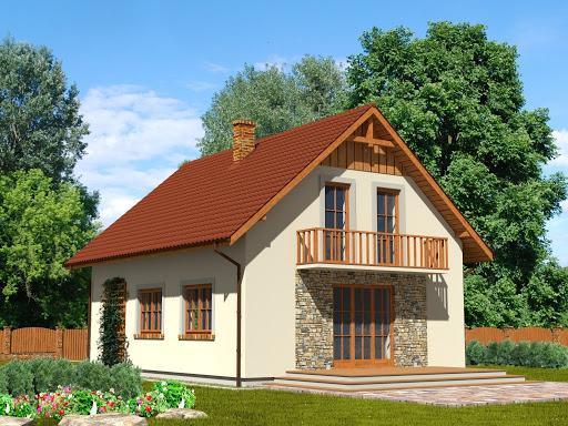 projekt Domek Południowy 015 BK v3