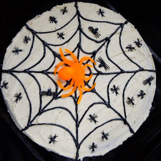 Halloween Pumpkin Layer Cake